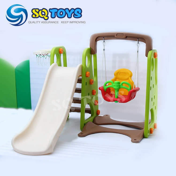 safety garden slide swing and Basketball Stand set for kids, outdoor swing
