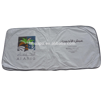 Advertising Foldable Window Tyvek Front Sunshade