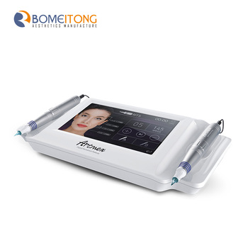 Nieuwste Digitale Touchscreen 2 In 1 Tattoo Gun Permanente Make Machine Korea