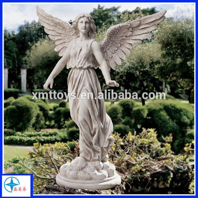 Plain Angel Statues For Garden Angels Statuesgarden Decoration Inside Ideas