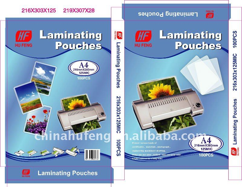 Lamionierfolie Pouch Laminating film in China