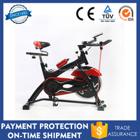 Home Gym Office Pro Indoor Cycling Exercise Bike Fitness Cardio Workout Aerobic Machine with Water Bottle