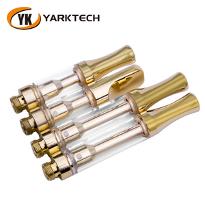 Yarktech Quick Shipment Thick Oil Glass Cartridge 510 Thread No Wick Ceramic Glass Tank Atomizer