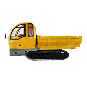 cheap prices rubber track truck mini dumper 4 ton tipper for sale