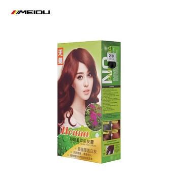 Chinese Hair Color Henna Herbal Hair Dye With Natural Hair Cream