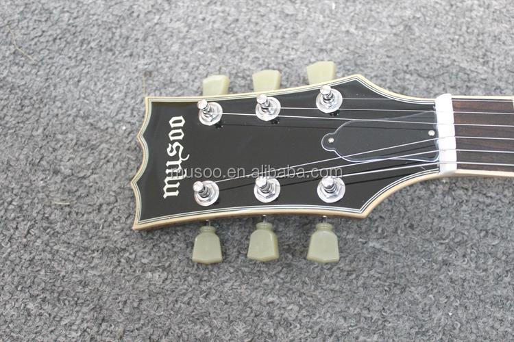 Musoo brand electric guitars with all parts from korea
