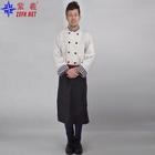 Hotel chef uniforms kitchen work clothing white chef clothing breathable dust-proof uniforms
