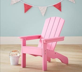 高品質木製折りたたみビーチチェア用キッズ木製アディロンダック椅子