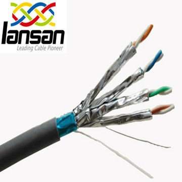 Lansan Cable 23AWG CAT7 Cable FFTP 600MHz Networking lan Cable