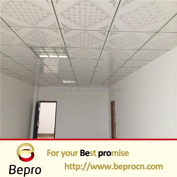 Waterproof pvc ceiling tile ceiling board plastic garage ceiling panels for iran buy for Waterproof ceiling tiles bathroom