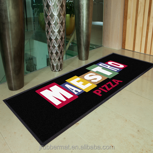 Branded Custom Printed Welcome Carpet Logo Door Mat Outdoor Floor Mat