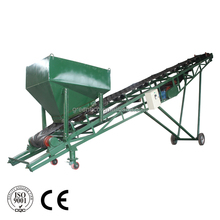 Heat Resistant Rubber Mobile Belt Conveyor