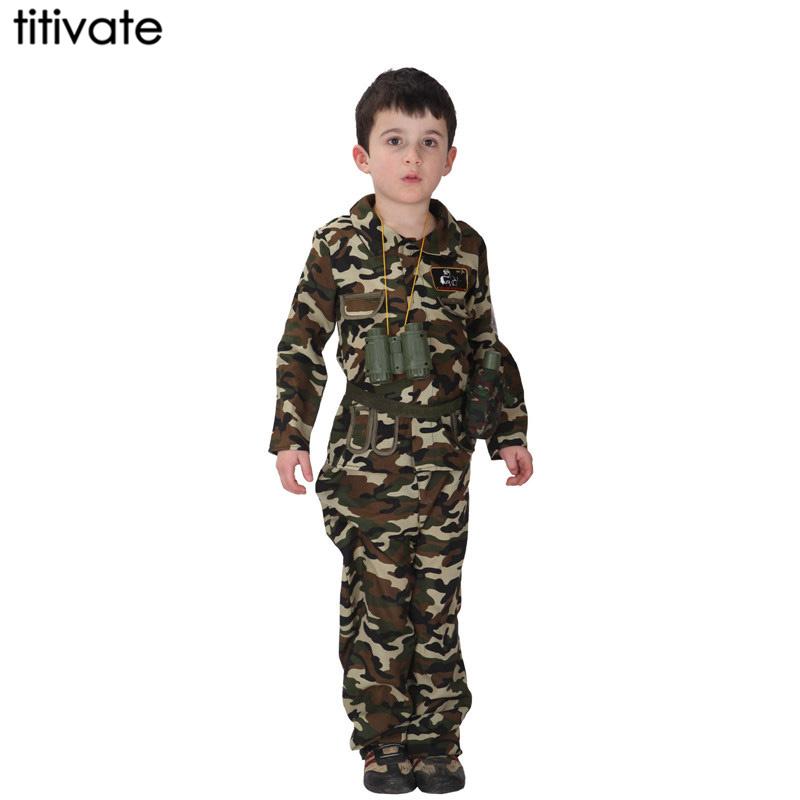 Compra Soldado del ejército de disfraces para niños online