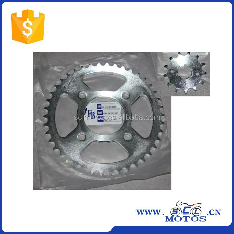 Scl2014020306 For Honda Unicorn Motorcycle Parts Chain Sprocket