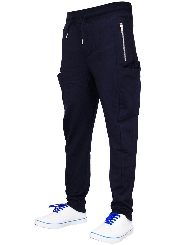 New Men GA Drop Crotch Designer Skinny Joggers Casual Trousers Jogging Bottoms