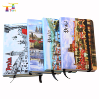 hot selling high quality printed elastic strap spiral a5 a6 custom paper notebook
