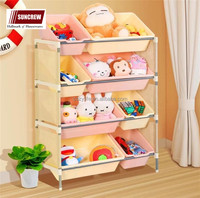 Home storage rack easy assemble rack shelf