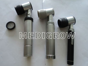 Mini handle Dermatoscope,Metal Body Dermatoscopes