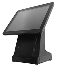 Nuovo desined oem di fabbrica 15 pollici touch Grossista all in one pos inserto stampante tpv