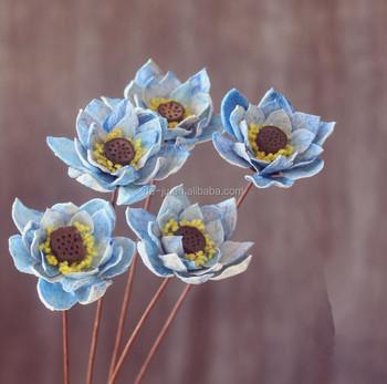 Handmade Light Blue Lotus Flower Dried Buy Lotus Flower Dried