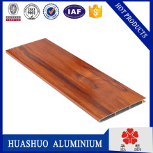 top quality aluminium profile wood color with low price