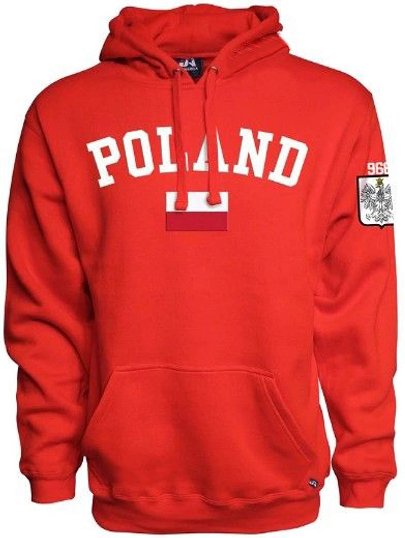 Sports Outlet Express Polska Polish Flag Hoodie Poland Est. 966