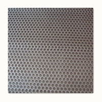 China Supplier round hole perforated iron/metal mesh/sheet m2 price for Sales