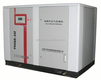 Air Cooling China Supplier Abb Vfd Stationary Screw Air Compressor ...
