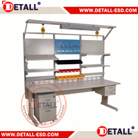Adjustable Stainless Steel Test Bench For Cleanroom - Buy Test ...