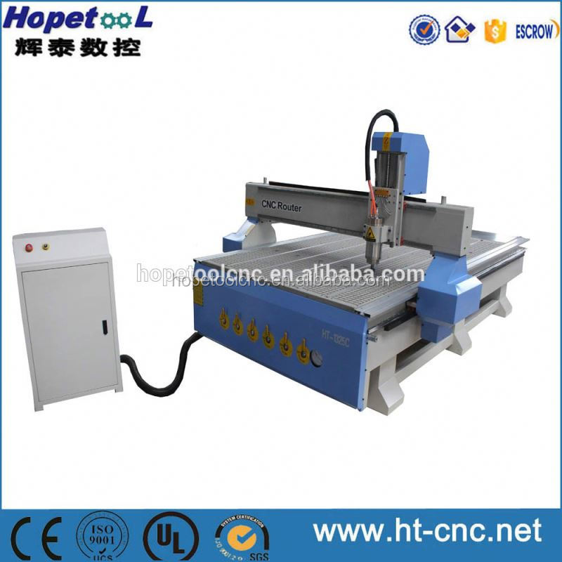 DSP controlled 1325 Vacuum table cnc router for wood kitchen cabinet door