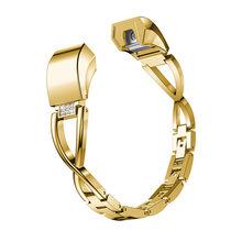 Сменный металлический ремешок для часов Fitbit Alta/Alta HR, женский браслет со стразами, ремешок для часов(Китай)