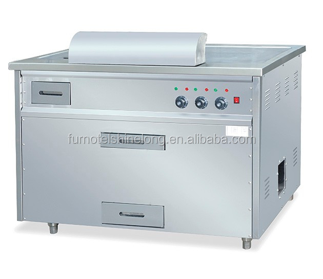 Commercial Japanese Electric Kitchen Teppanyaki Grill with CE Certificate