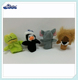 Penguin frog lion elephant Cloth Doll Baby Educational Finger Puppets