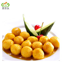 Hot Selling Seafood Snack Curry Fish Balls Frozen halal Fish Ball