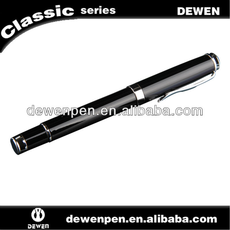 2013 dewen new design metal free ink roller pen