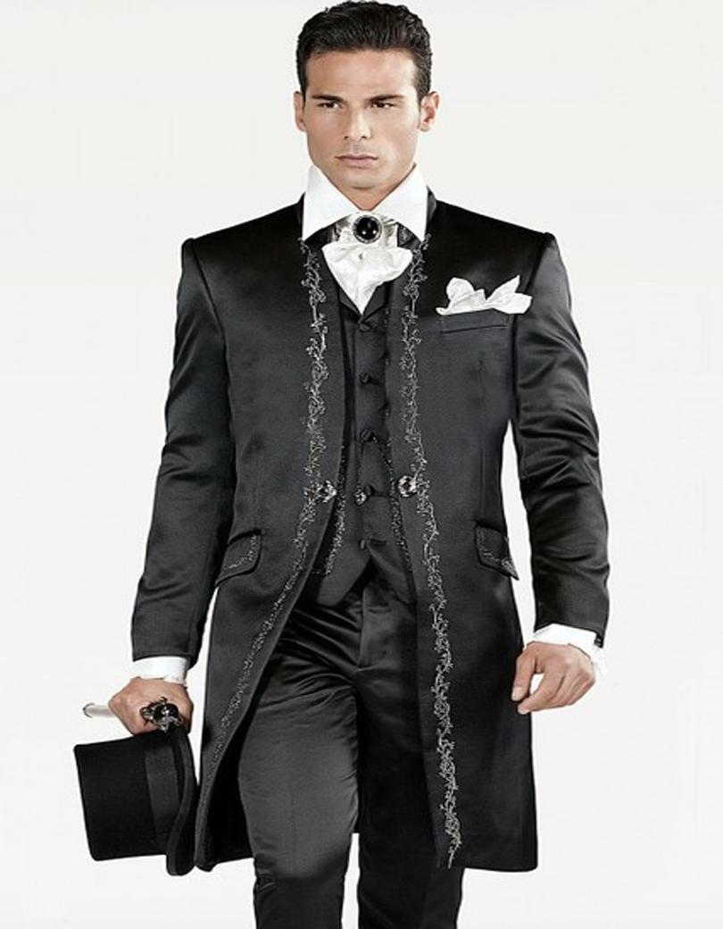 Handwork Designs Formal Wearing Customized Groom Wedding Tuxedos ...