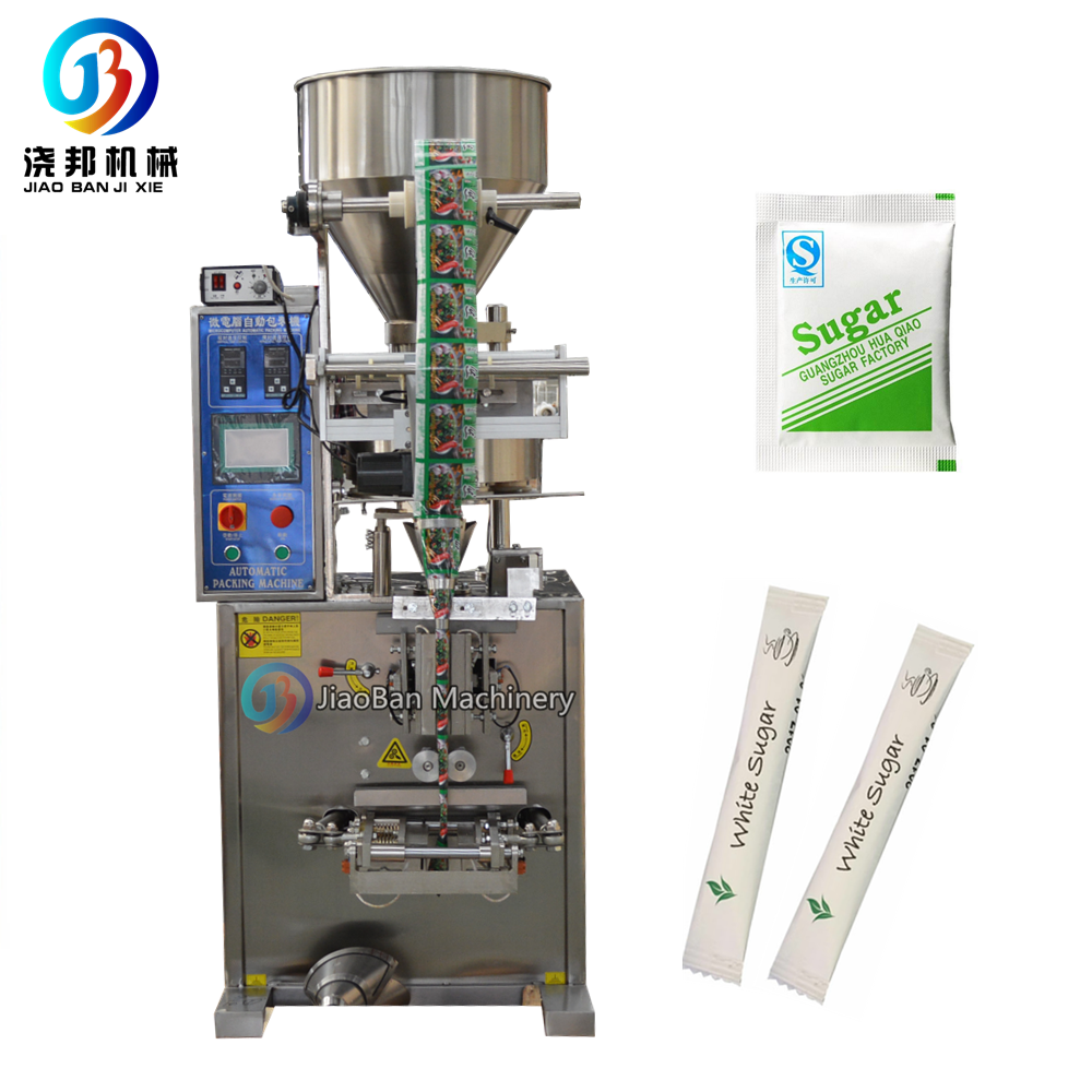 5g 10g Automatic stick sugar packaging machine granule sachet bagger JB-150K