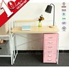 Low Price Home Studio Desk Wood Desktop Writing Desk With Shelf Plate