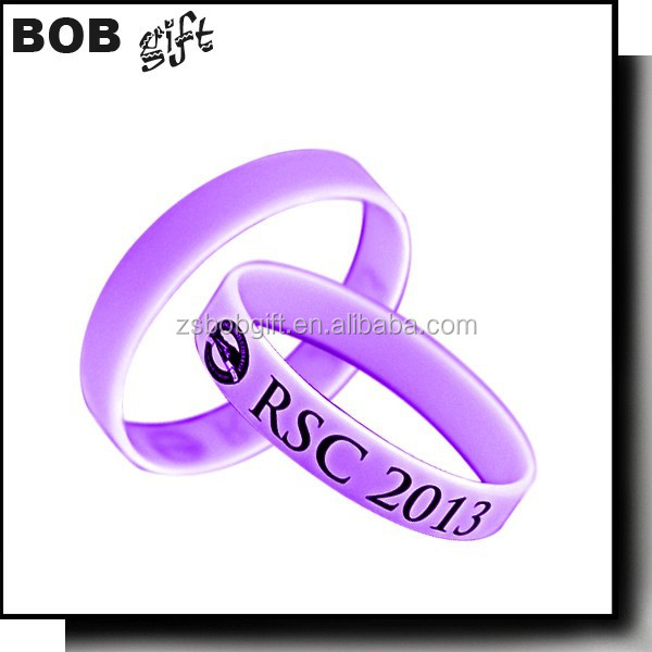 2015 Jewelry Main Material and Charm silicone Bracelets