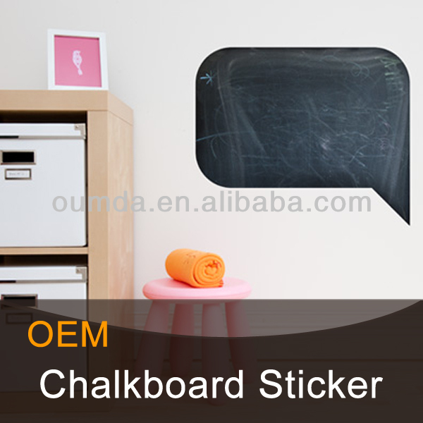 chalkboard wall decals for record