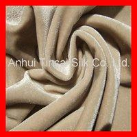 Polyester 4 way Stretch Velvet Fabric