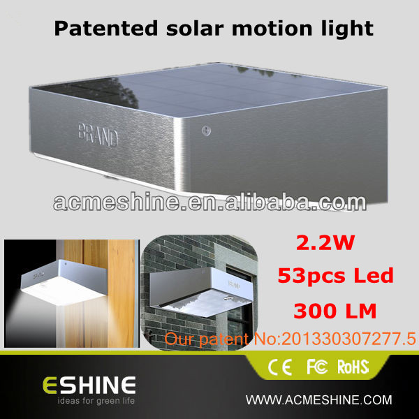 5w Portable Installation Outdoor Wall Mounted Solar Powered Heat ...