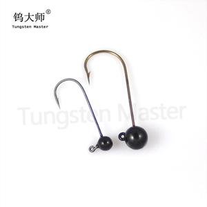 Factory price high quality tungsten lead head fishing jig head