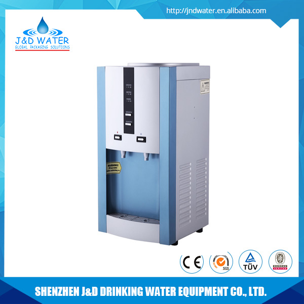 China wholesale desktop electronic refrigeration direct piping water dispenser