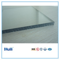 Polycarbonate Solid Sheet 1mm Thickness 1220mm*2440mm UV Resistance Coating Clear 100% Virgin PC Resin Strong Impact