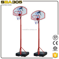 height adjustable portable basketball goal stand set for office or outer.
