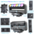 High Quality high power LED 6x60w 4-in-1 Rgbw Beam Led Zoom Moving Head with wash effect stage light for TV studio