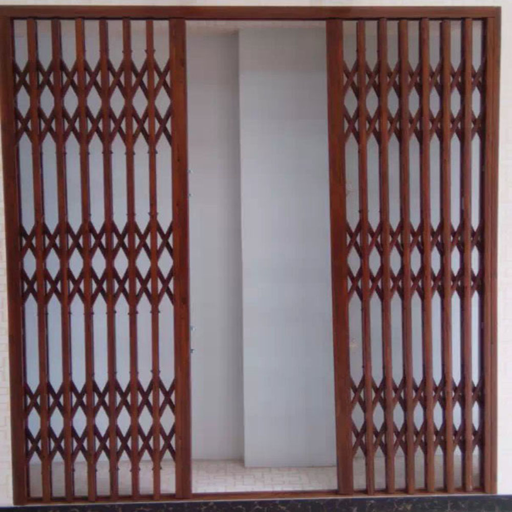 aluminum burglar proof grill retractable design for door and window