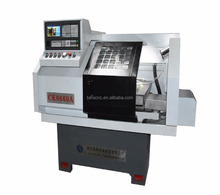 Robot automatic feeder CNC lathe CK0660A New small economic cnc lathe price