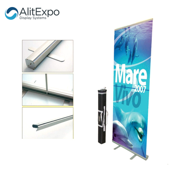 Wholesale Custom  Cheap Roll Up Horizontal Banner Stand